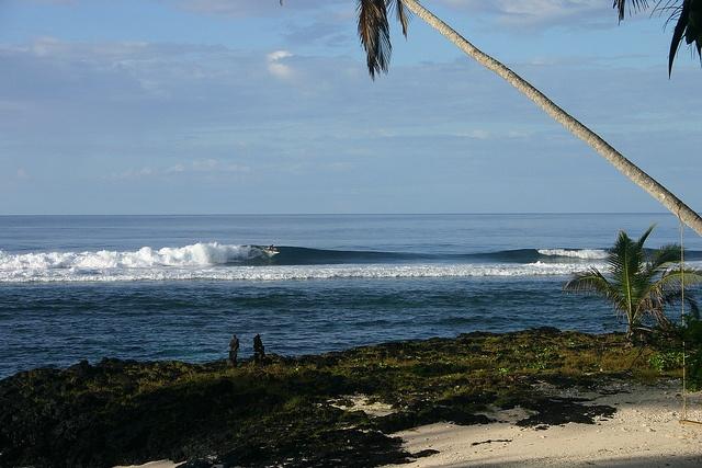 Samoa surf paradise