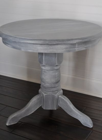 Step-by-step guide to white washing furniture.  Need to try this!