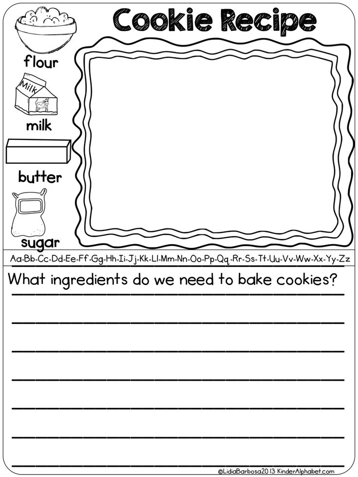 December Preschool Worksheets