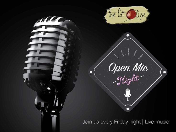 Introducing our Open Mic Night! Join us every Friday for dinner while new and aspiring artists showcase their talents! Bookings on 071 354 6622