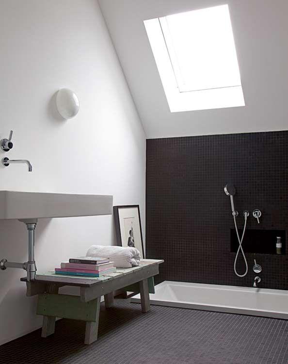 63 best polished concrete images on pinterest bathroom for How to build a sunken bathtub