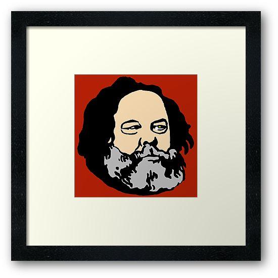Mikhail Bakunin by IMPACTEES