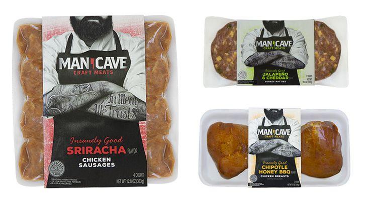 Man Cave Mini Brats : Man cave meats i guess women can eat them too pd