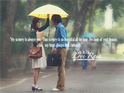love rain korean drama quotes and sayings - Google Search