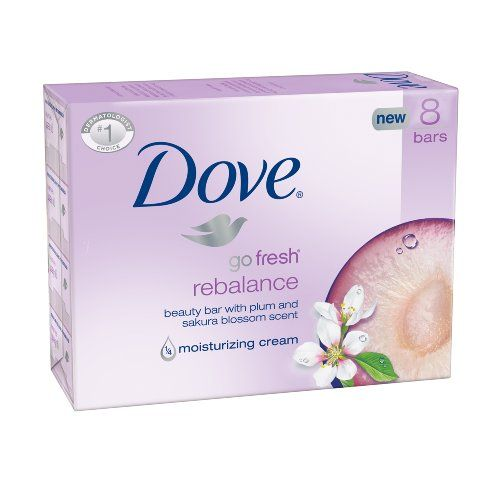 Dove Bar Soap, Rebalance, 8 Count #Dove #Soap, #Rebalance, #Count