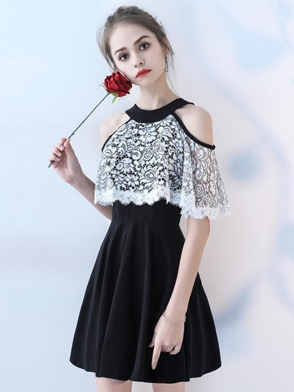 A-line Scoop Short Mini Sleeveless Chiffon Homecoming Dress Short Dress    VB524 · Homecoming HosenröckeKurze Homecoming KleiderKurze ... b505747434