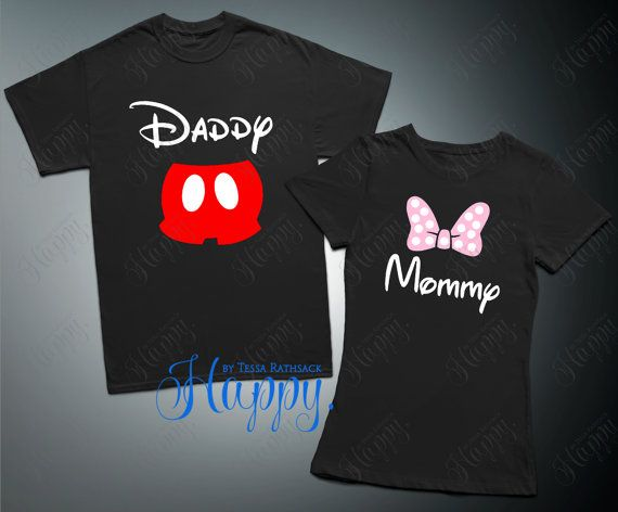 Mouse Top Mouse T-Shirt Family Shirts Theme Park by HappyTessa