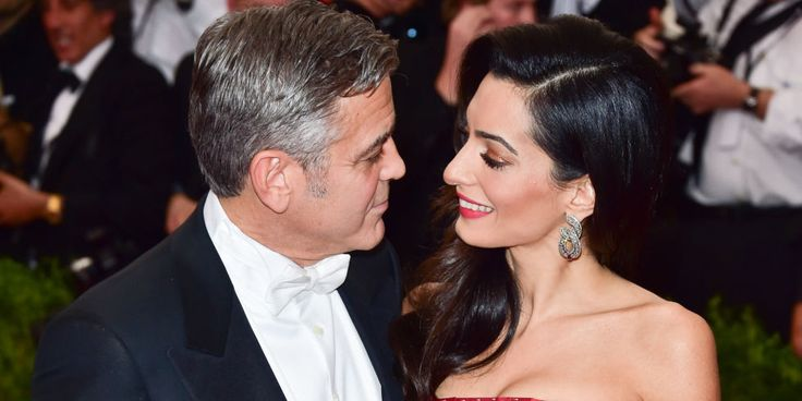 George Clooney Talks First Wedding Anniversary - George Clooney Quotes on Marriage to Amal Clooney