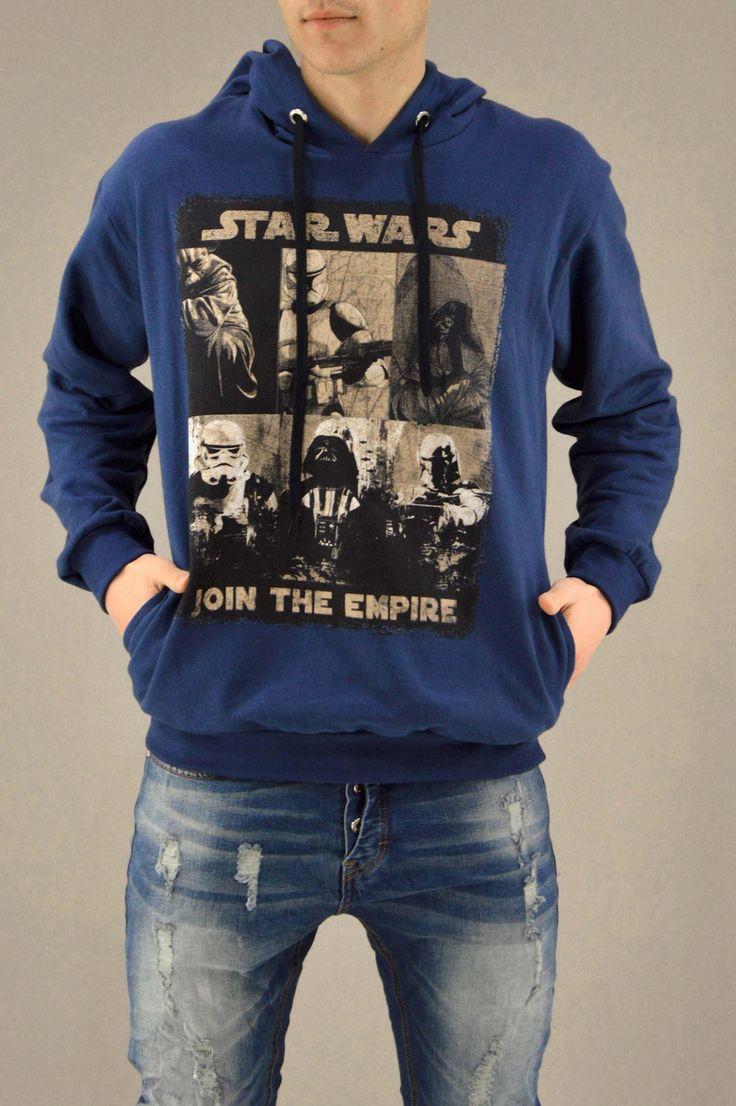 Ανδρικό φούτερ Join The Empire FOUT-1214-bl | Φούτερ > Sport & Μπλέ ρουά