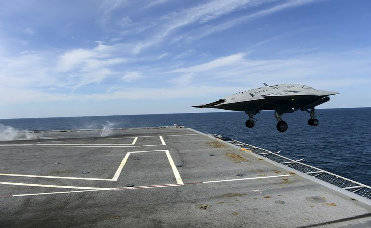 US Navy's Unmanned X47-B Jet Takes Off Aircraft Carrier For The First Time (VIDEO)