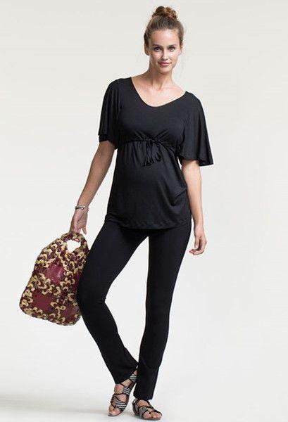 Boob Design Once-On-Never-Off Slim pants