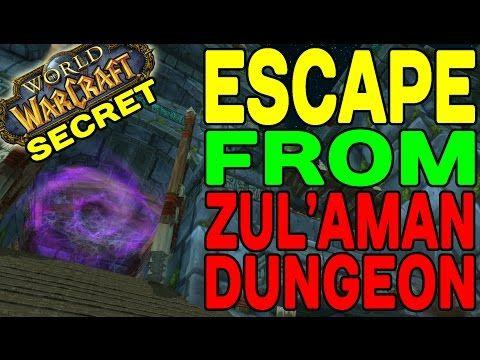 World of Warcraft SECRET: Escape from Zul'Aman Dungeon !! - Best sound on Amazon: http://www.amazon.com/dp/B015MQEF2K -  http://gaming.tronnixx.com/uncategorized/world-of-warcraft-secret-escape-from-zulaman-dungeon/