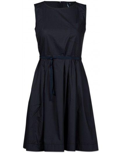 Woolrich Popeline Dress Damen Kleid marine