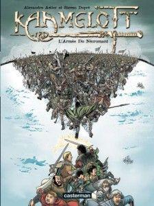 Kaamelott, tome 1 : l'Armée du Nécromant d'Alexandre Astier et Steve Dupré