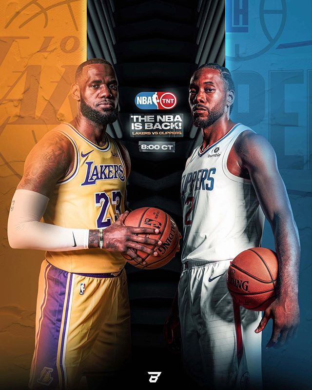 Braydn Larson On Instagram Laker Vs Clippers Tonight Who You Got In 2020 Lakers Vs Clippers Lakers Vs Lakers