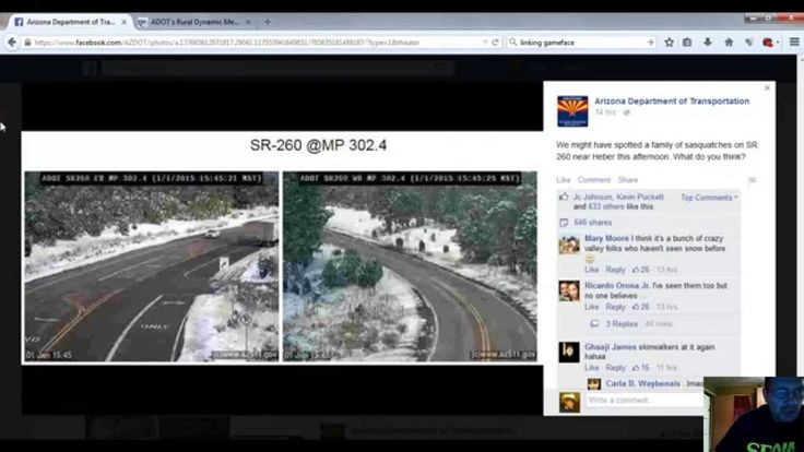 Steve Alcorn: Did the Arizona Department Of Transportation really catch Bigfoot on one of their traffic cameras? Would a government agency really proclaim the existence of Sasquatch? Campers Attack...
