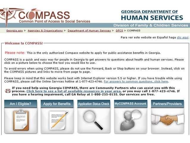 Compass Gov Ga Food Stamps  HttpWwwValeryNovoselskyOrg