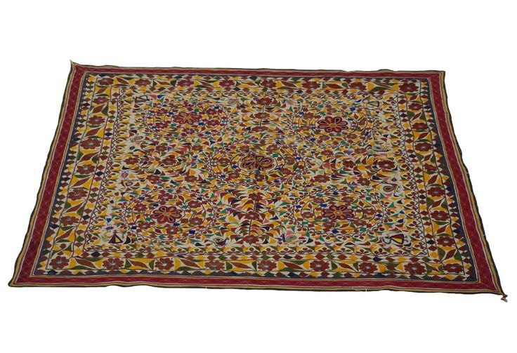Hand Embroidered Rare Vintage Banjara Tapestry Large Kutchi Wall Hanging Throw by MyCraftPalace on Etsy https://www.etsy.com/au/listing/398247909/hand-embroidered-rare-vintage-banjara