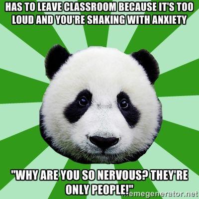 Dyspraxic Panda