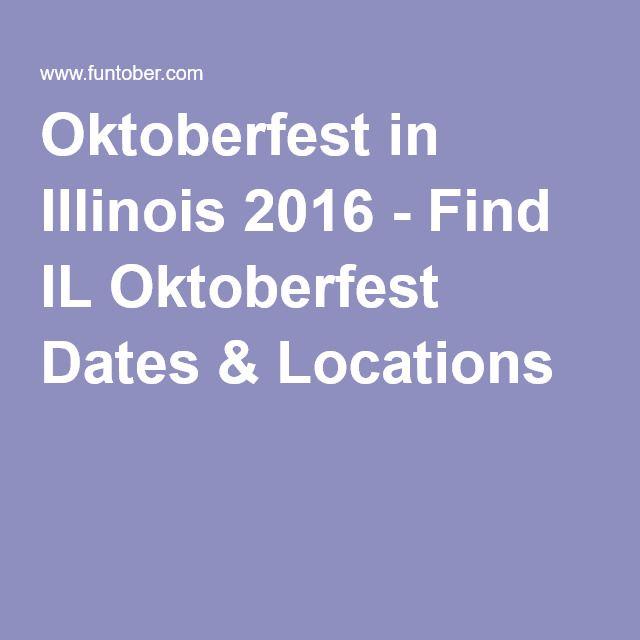 Oktoberfest in Illinois 2016 - Find IL Oktoberfest Dates & Locations
