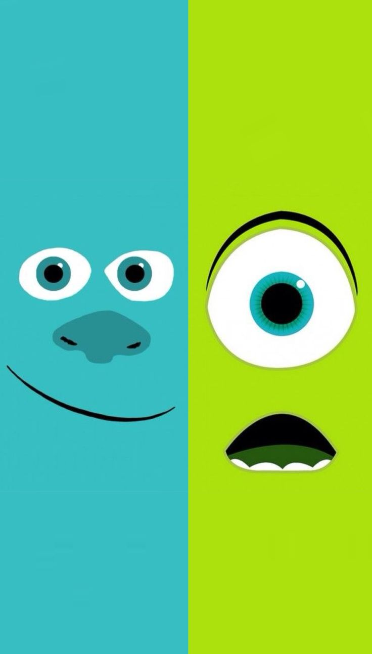 Monsters University | Mike & Sulley iphone Wallpaper
