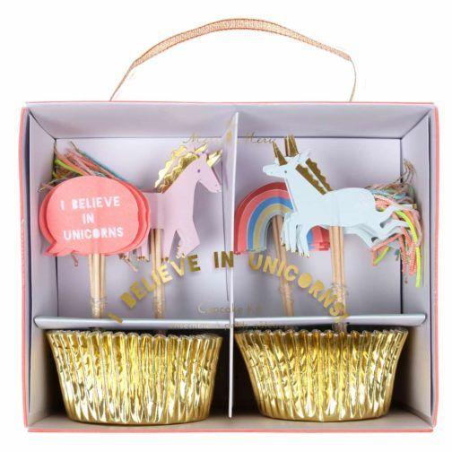 Kit Cupcakes Unicornio