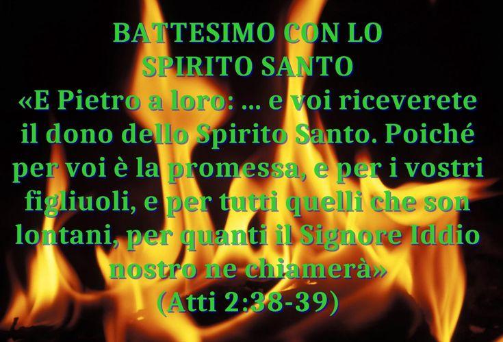 """Dopo la salvezza, questa è la più grande promessa fatta da Dio ai credenti: """"Il battesimo con lo Spirito santo"""""""