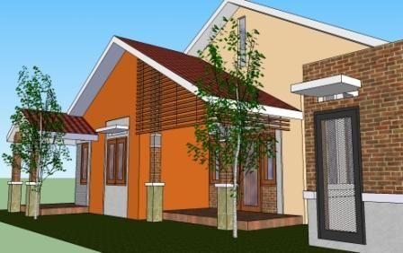 Assalamu'alaikum pak ustadz andan Izin mau konsultasi ustadz, saya punya tanah ukuran 14 x 18 ( yang 14 m menghadap jalan raya arah timur), mohon bantuan desain gambar rumah sederhana yang sejuk dengan kebutuhan: