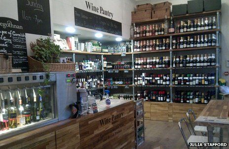 pics of signs in a wine store | English wine: Is sparkling wine better in…