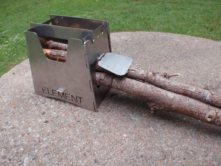 Element wood burning stove lightweight for backpacking for Diy camp stove
