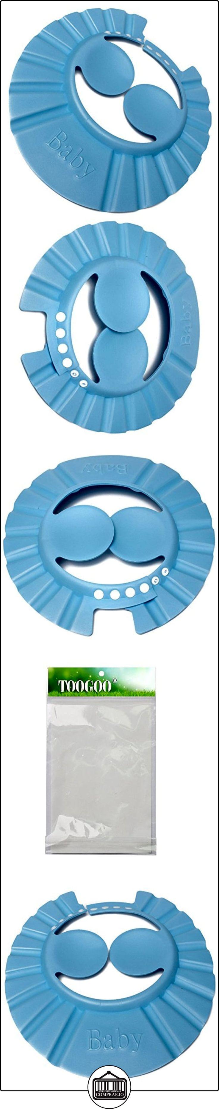 Gorro de ducha del bano - TOOGOO(R) Gorro de ducha del bano para lavar el pelo con champu para bebes infantiles ninos y muchachos azul  ✿ Seguridad para tu bebé - (Protege a tus hijos) ✿ ▬► Ver oferta: http://comprar.io/goto/B01EHQ8JYG