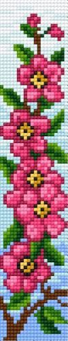 Cross-stitch bookmark patterns