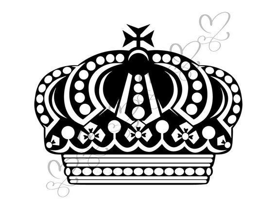 Crown Headwear King Royal Person Queen Coronation Diadem Royalty Corona Svg Eps Png Vector Clipar Queen S Coronation Crown Playing Card Games