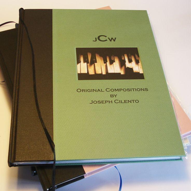 Custom Musician's Notebook / Composer's Journal $58  – Transient Books
