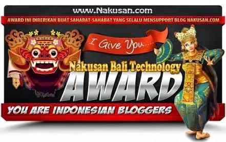 Award Nakusan Bali Technology