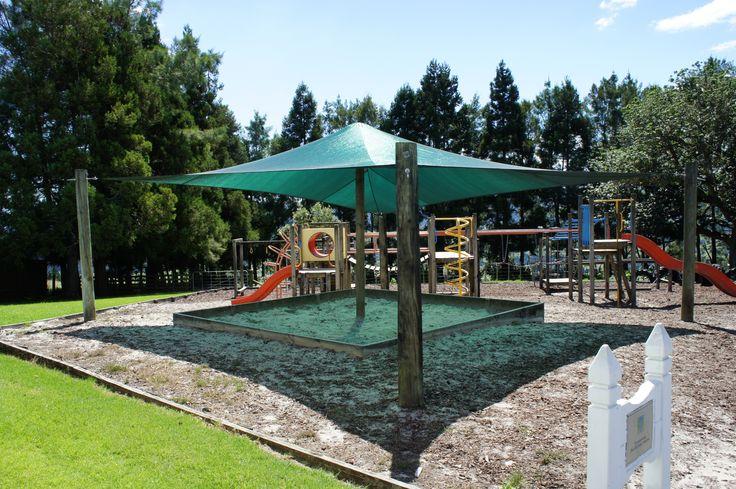 Playground/sand-pit shade sail