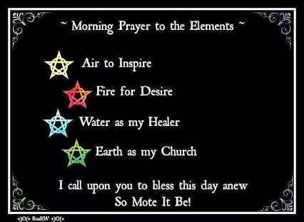 Image result for wiccan morning prayer