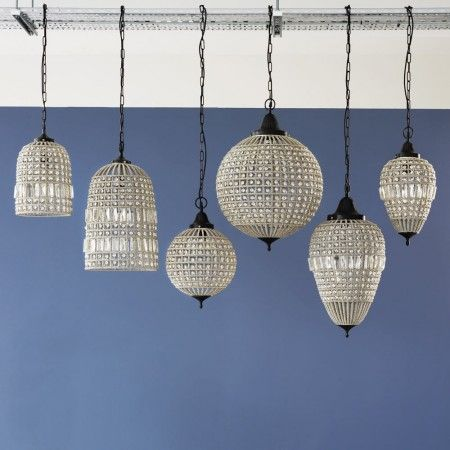 Beaded Pendants - Chandeliers & Ceiling Lights - Lighting