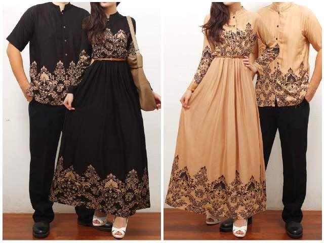 Jual Baju Couple, Baju Batik Setelan, Busana Pria Wanita, Kode ...