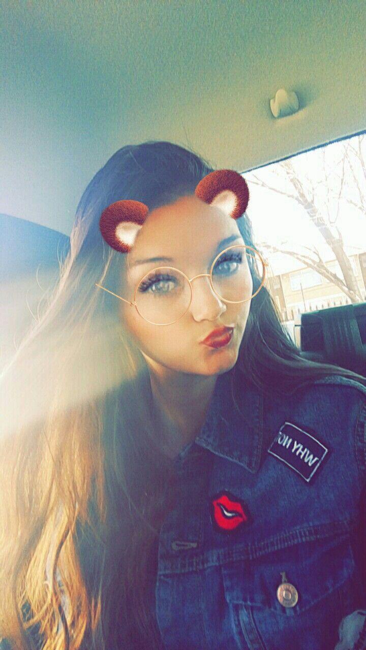 Snapchat selfie #iwanttobeamodel