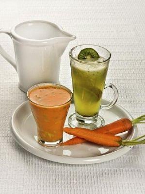 Коктейль из авокадо и моркови - фото рецепт