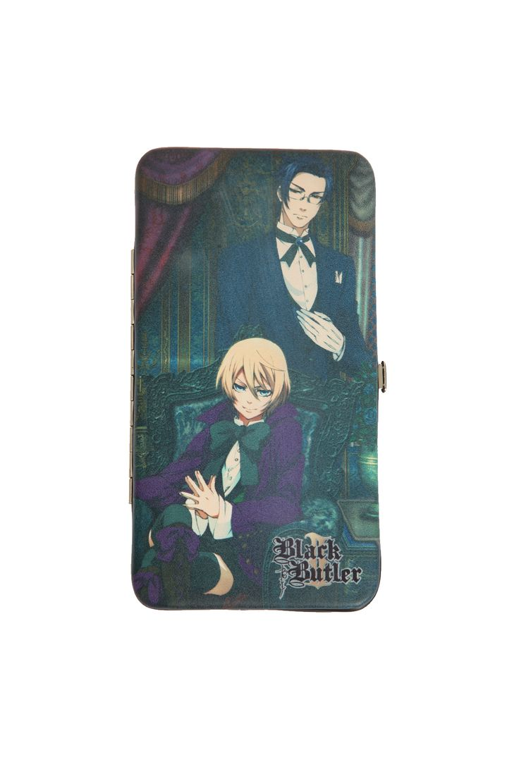 123 best alois and claude images on pinterest alois trancy black hot topic black butler ii alois and claude hinge wallet biocorpaavc Image collections
