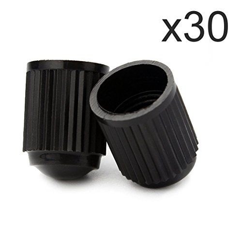 RION TECH 30 Pack Tyre Valve Dust Caps for Car, Motorbike, Trucks, Bike, Bicycle,22-5-00709-8A Black Plastic Valve Cap (Black) #RION #TECH #Pack #Tyre #Valve #Dust #Caps #Car, #Motorbike, #Trucks, #Bike, #Bicycle, #Black #Plastic #(Black)
