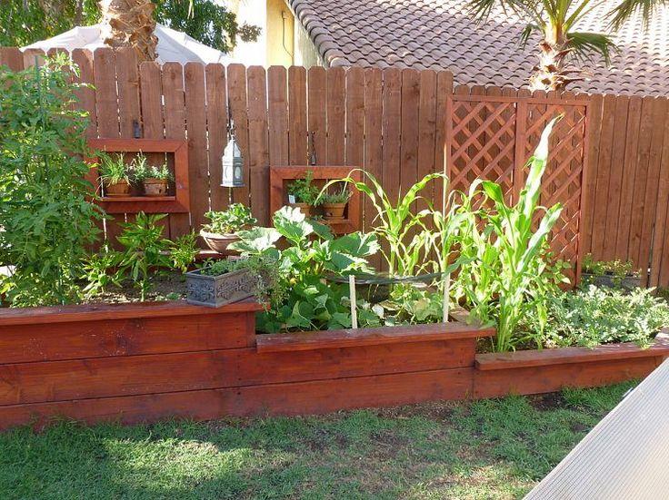 3 Tierd Vegetable Garden Bed Updated with Veggies