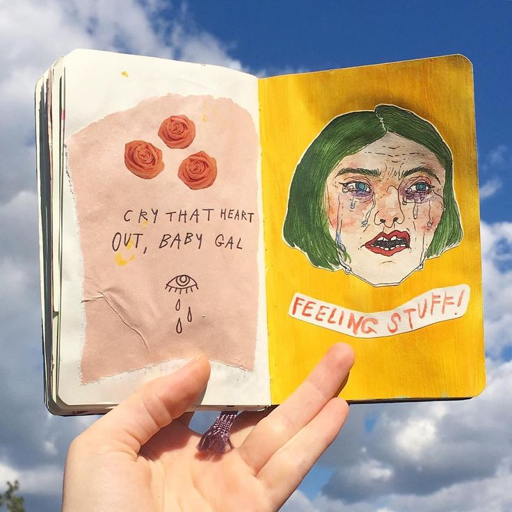 Letting those feelings out, cause hey - they're yours. Own it. There's so much…