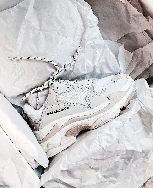 Dupe des Balenciaga Triple S | shoes | Chaussures balenciaga ...