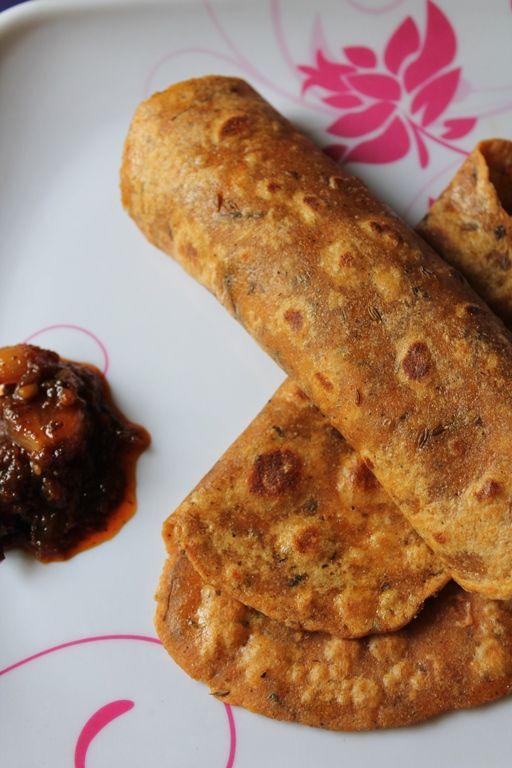 Masala Chapati - It is yummy! #northindiancuisine #indianfoods #indianrecipes http://zaikaofkensington.com/