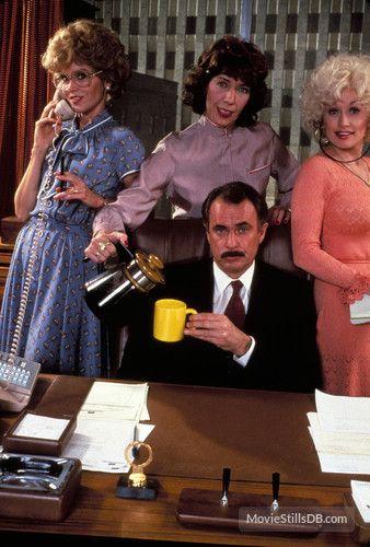 Nine to Five (1980) - Publicity Stills ~ Jane Fonda, Lily Tomlin, Dolly Parton, Dabney Coleman, Sterling Hayden, Norma Donaldson ~ #80smovies
