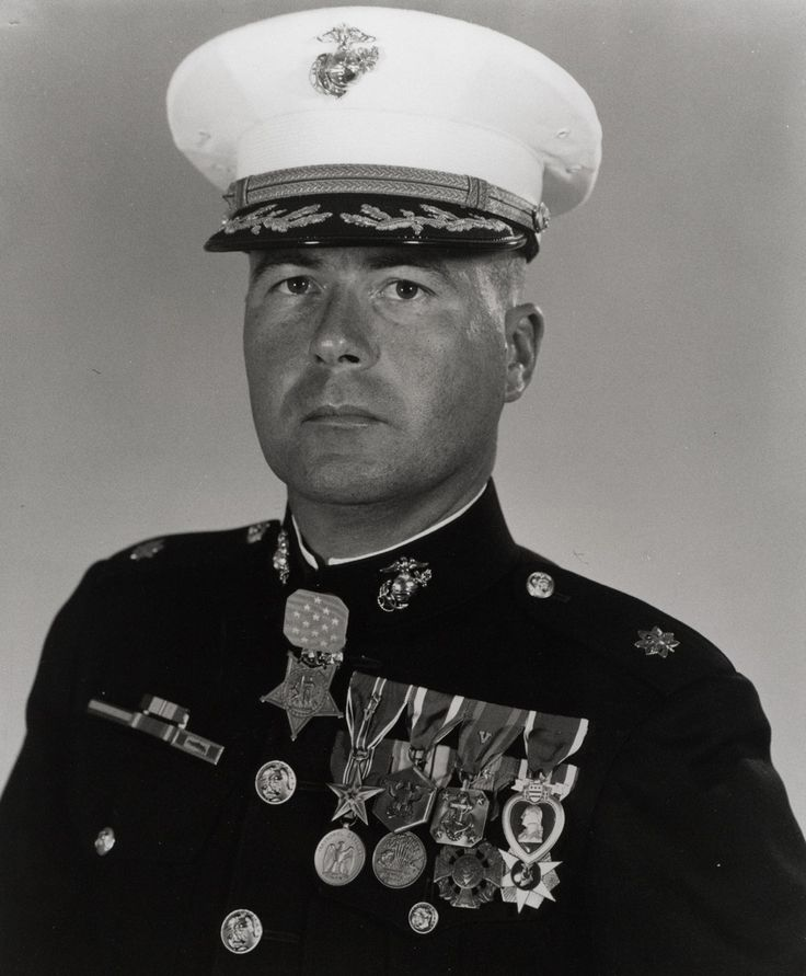 Valor awards for Col (then Capt) Harvey Curtiss Barnum Jr. (1940 - ) USMC. Medal of Honor for conspicuous gallantry and intrepidity at the risk of his life above and beyond the call of duty on 18 December 1965, outside the village of Ky Phu, Quang Tin Province, Republice of Vietnam. Defense Superior Service Medal, Legion of Merit, Bronze Star w/ one award star & Valor device, Purple Heart, Meritorious Service Medal, more. Visit site.