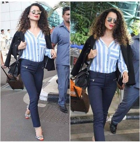 18 Times Kangana Ranaut Redefined the Airport Style